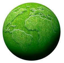 Green Planet Globe