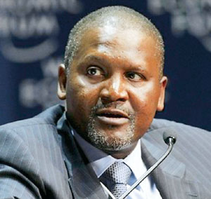 Aliko Dangote. Image provided by Forbes.