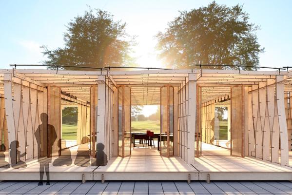 construction pre built for environmentally friendly