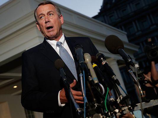 U.S. House Speaker John Boehner.