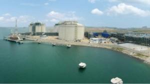 Singapore's LNG Terminal on Jurong Island. (Photo: MTI).