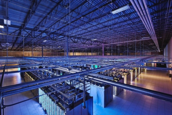 The Google data centre in Hamina, Finland. Photograph by: Uncredited , AP