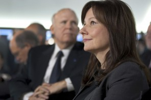 (Handout photo/REUTERS) - Mary Barra is named chief executive to succeed Daniel Akerson, marking the first time a woman has run the world's No. 2 auto maker.
