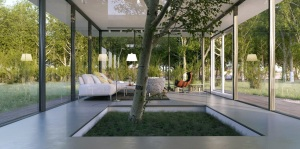 Le-Anh-White-Elegant-Living-With-Indoor-Tree-Feature