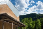 The Aspen Music School renovation was designed by architect Harry Teague. The roof lines mirror the jagged mountains in the background, Photo by Alex Irvin. Provided by Aspen Music School. Read more: Best architecture of 2013: The shortlist - The Denver Post http://www.denverpost.com/entertainment/ci_24713198/best-architecture-2013-shortlist#ixzz2nfm6jk50 Read The Denver Post's Terms of Use of its content: http://www.denverpost.com/termsofuse Follow us: @Denverpost on Twitter | Denverpost on Facebook