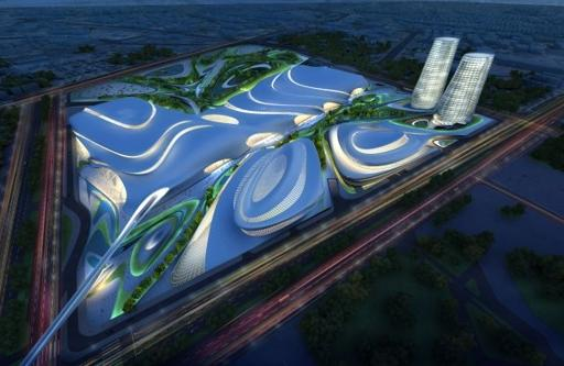 Cairo Expo City by Zaha Hadid is one of many exciting design developments set for completion in 2014.