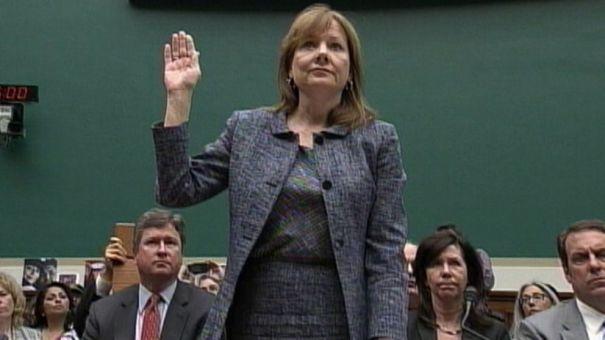 GM new CEO Mary Barra.