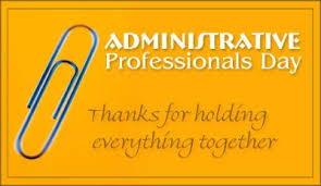 Adminstrative  Professional Day